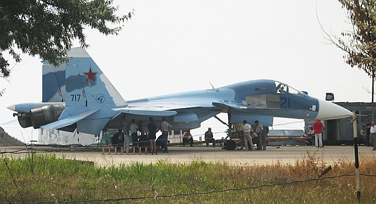Aircraft Carrier Admiral Kuznetsov: News #1 - Page 28 000-Su-27KUB-5ES