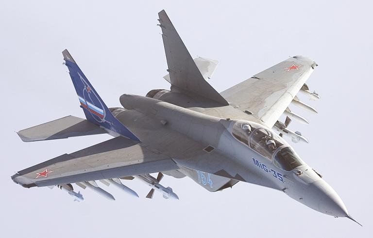 مصدر عسكرى : مصر وقعت عقد شراء 24 مقاتلة Mig-35 و ستصل الطائرات تباعا خلال عامى 2019 و 2020 MiG-35-Proto-2007-S
