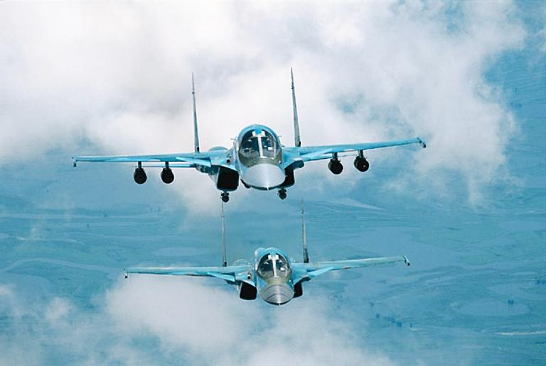 قاذفة القنابل الإستراتيجية متوسطة المدى سوخوي 34 NAPO-Su-34-2