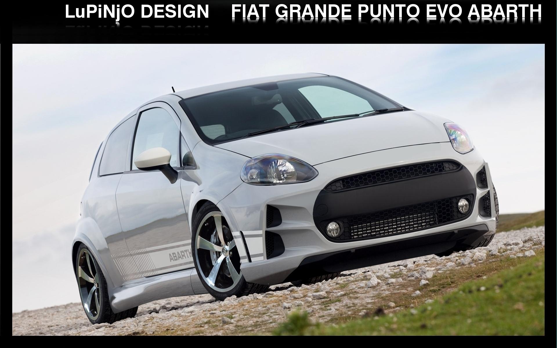Virtual Tuning Punto Evo e Punto 2012 Fiat_grande_punto_evo_abarth_by_LuPiNjO
