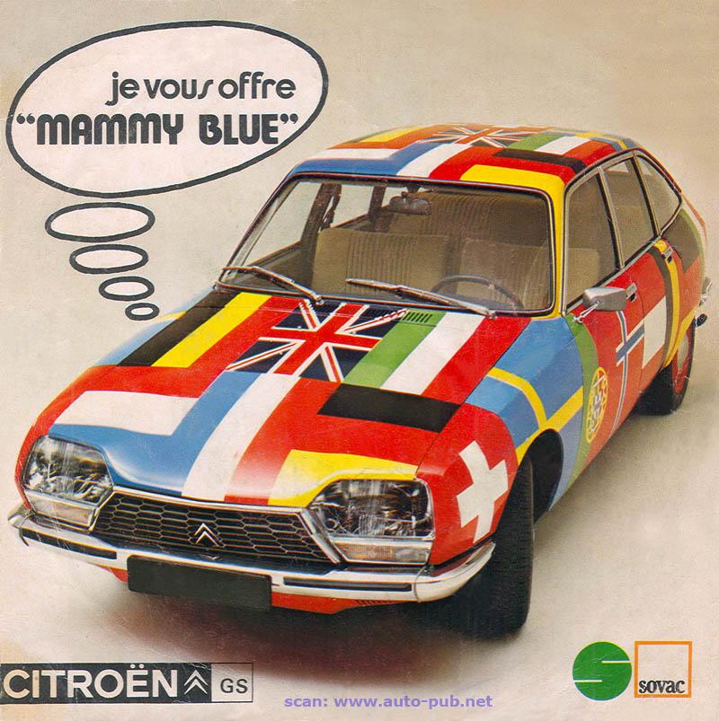 [MUSIQUE] Citroën et DS dans les clips - Page 2 GS_drapeau_45t_1