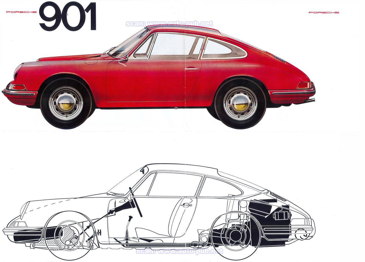 Une suite de nombres en photos ... - Page 5 Porsche_901_1