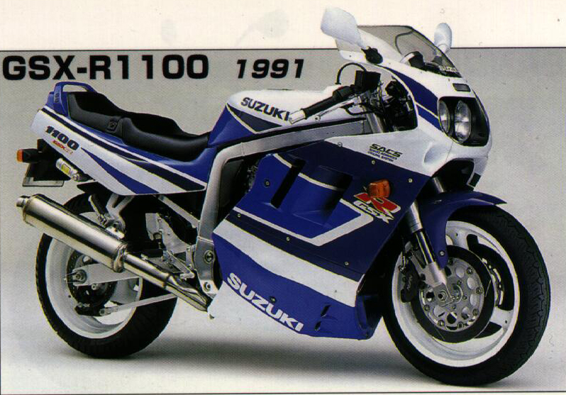 Rassemblement  National Victory Riders France 2014 - Le lieu: TAUVES - Page 3 Gsxr1100-1991