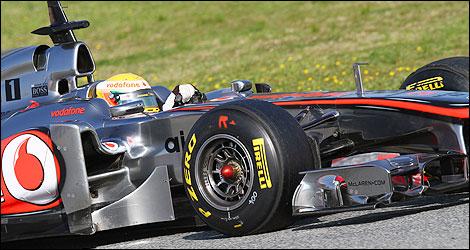 """McLaren saura """"surprendre""""  Hamilton-mclaren-close-2"""