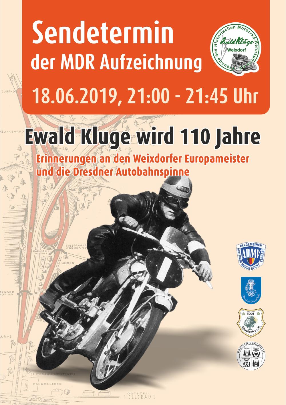 Ewald Kluge Sendetermin