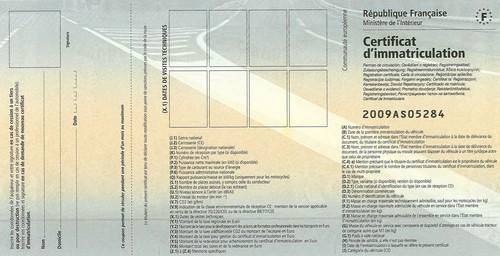 carte grise - [article] Carte grise collection - Avantages inconvénients réels Cg