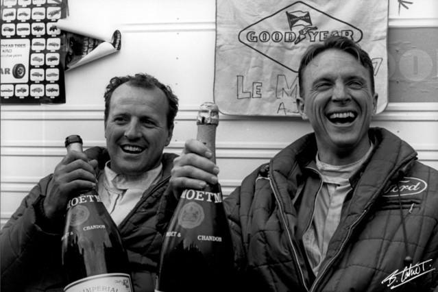 Endurance (Auto) - 24h du Mans - Page 4 Gurney-Foyt_1967_LeMans_01