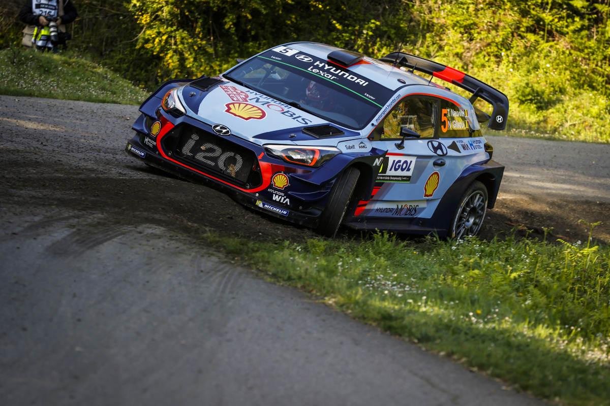 WRC - World Rallye Championship Wrc-corse-etape2-neuville-leader-hyundai-bilan-avril-2017