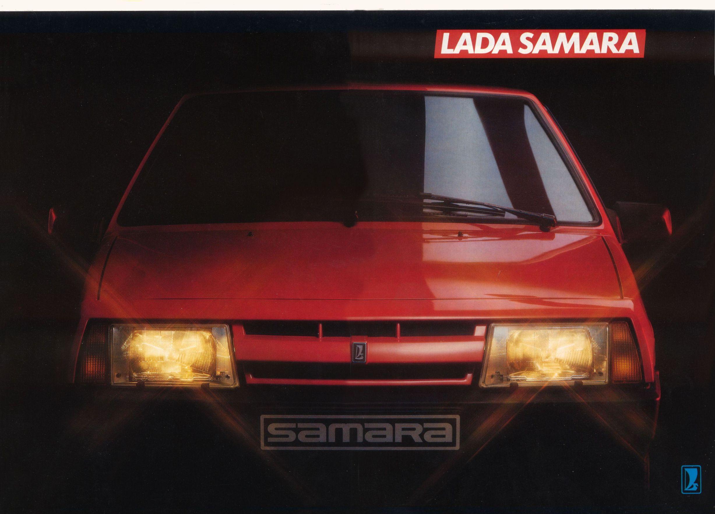 BROCHURE 2108 SAMARA 1990 HOLANDA 1990%20Lada%20Samara0106