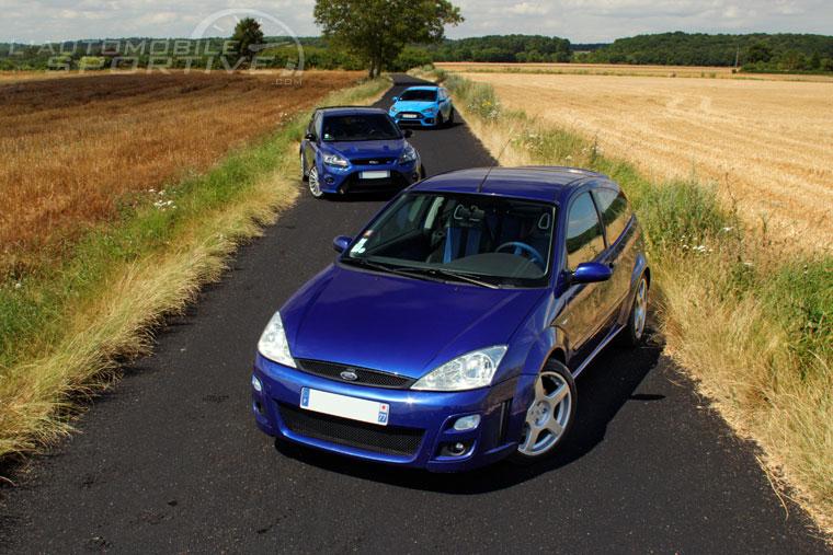 Actualité et Essai FORD Ford-focus-rs-mk1-mk2-mk3