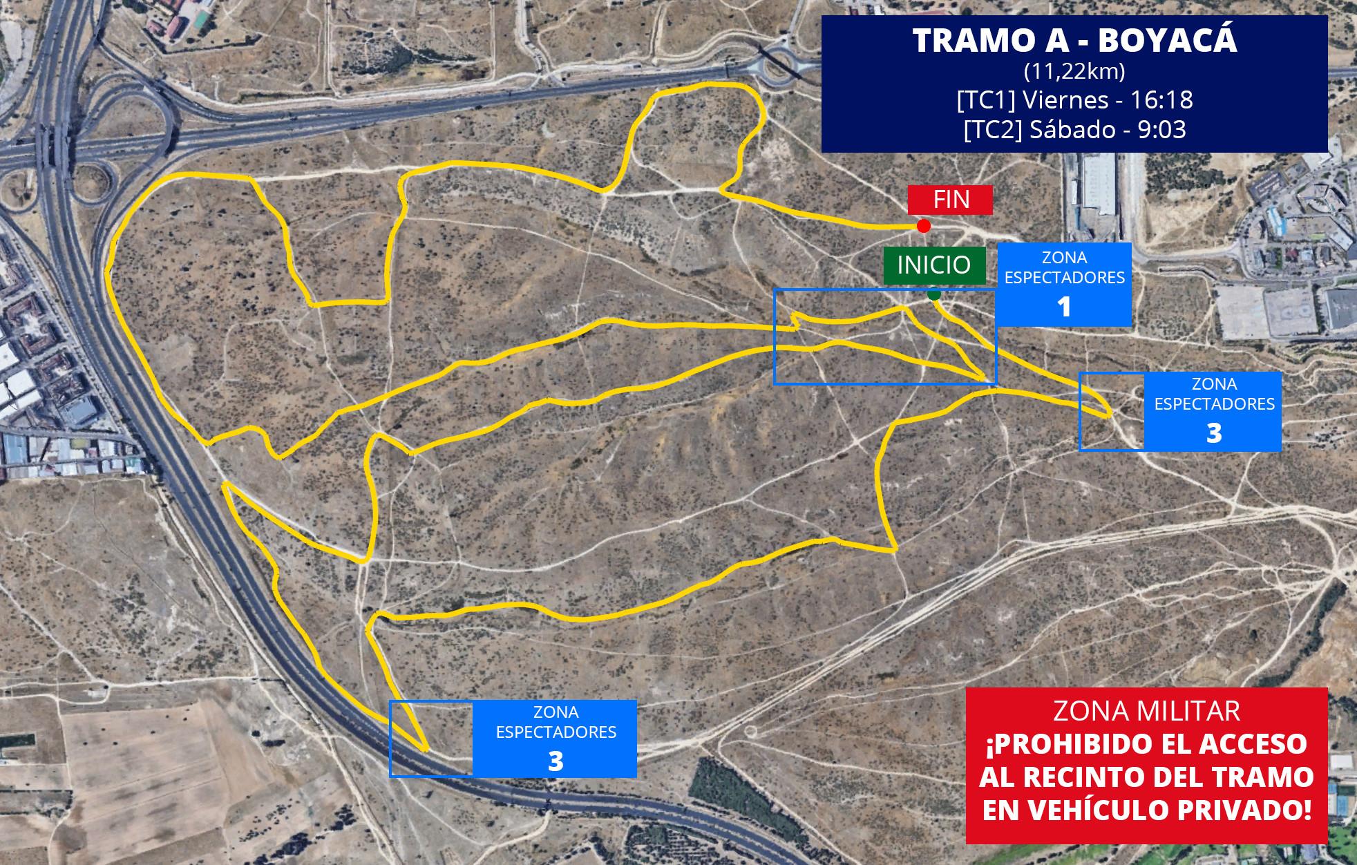 CERT: 2º Rallye de Tierra de Madrid [29-30 Noviembre] TC-A-Boyaca