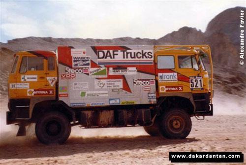 406 siamois DAKAR-DE-ROOY-LE-DAF-DOUBLE-Cabine