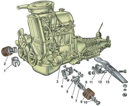 Двигатель ВАЗ-2105 2-3s
