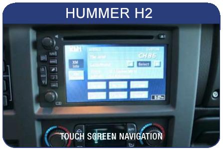 Autoradio 2 din pour Hummer H2 2006. KIT066-H2