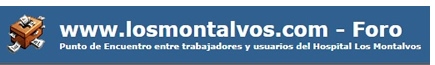 FORO HOSPITAL LOS MONTALVOS de Salamanca