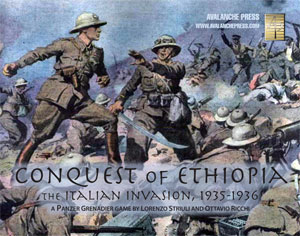 Nouveau PanzerGrenadier : Conquest of Ethiopia 1935-1936 Conquest_cover_300