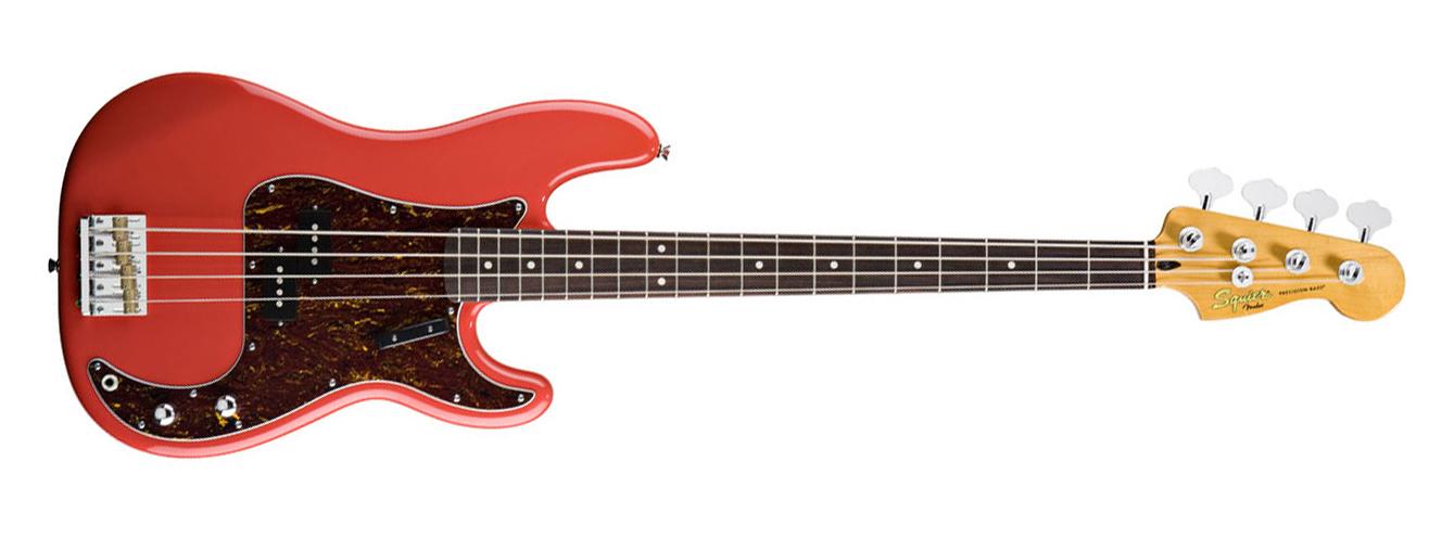 Squier Precision CV Fiesta Red recém chegado dos EUA! Fender-squier-classic-vibe-p-bass-fiesta-red