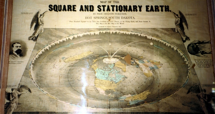 La TERRE PLATE démystifiée par le Vendée Globe Square_earth