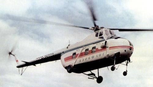 Unión - Mil Mi-4 helicóptero de transporte  ( Unión Soviética ) Mi-4_16