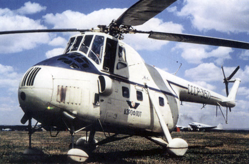 Unión - Mil Mi-4 helicóptero de transporte  ( Unión Soviética ) Mi-4_17