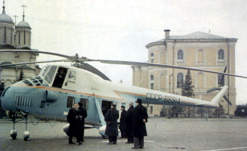 Unión - Mil Mi-4 helicóptero de transporte  ( Unión Soviética ) Mi-4_25
