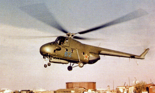Unión - Mil Mi-4 helicóptero de transporte  ( Unión Soviética ) Mi-4_26