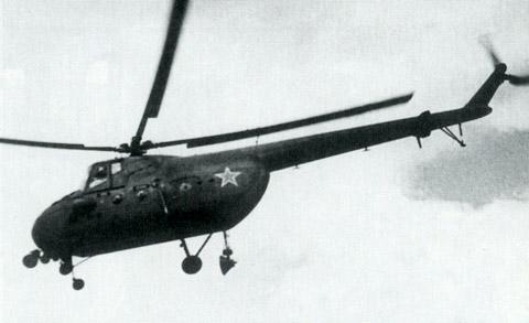 Unión - Mil Mi-4 helicóptero de transporte  ( Unión Soviética ) Mi-4_28
