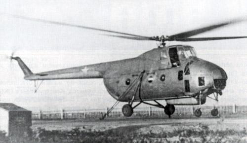 Unión - Mil Mi-4 helicóptero de transporte  ( Unión Soviética ) Mi-4_3