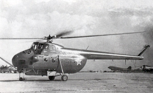 Unión - Mil Mi-4 helicóptero de transporte  ( Unión Soviética ) Mi-4_30