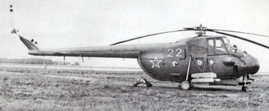 Unión - Mil Mi-4 helicóptero de transporte  ( Unión Soviética ) Mi-4_31