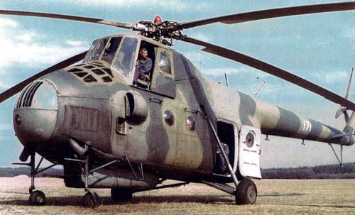 Unión - Mil Mi-4 helicóptero de transporte  ( Unión Soviética ) Mi-4_36