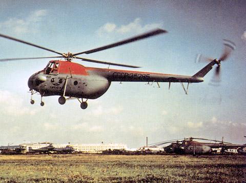 Unión - Mil Mi-4 helicóptero de transporte  ( Unión Soviética ) Mi-4_39