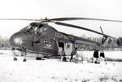 Unión - Mil Mi-4 helicóptero de transporte  ( Unión Soviética ) Mi-4_41