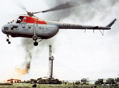 Unión - Mil Mi-4 helicóptero de transporte  ( Unión Soviética ) Mi-4_42