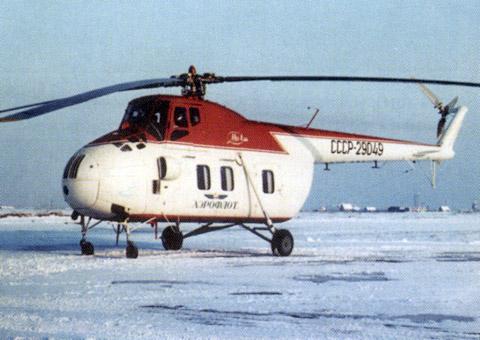 Unión - Mil Mi-4 helicóptero de transporte  ( Unión Soviética ) Mi-4_43