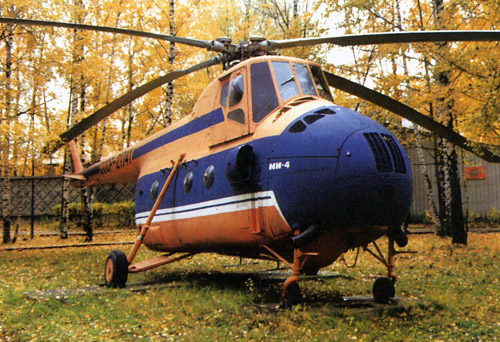 Unión - Mil Mi-4 helicóptero de transporte  ( Unión Soviética ) Mi-4_5