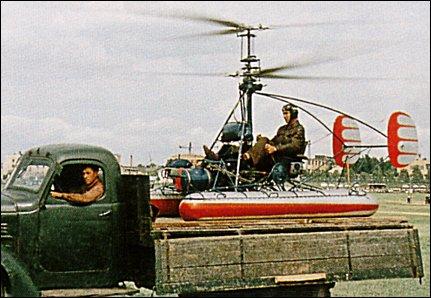 KAMOV - o pai do helicoptero coaxial russo Ka-10_2