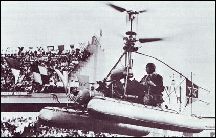 KAMOV - o pai do helicoptero coaxial russo Ka-10_3