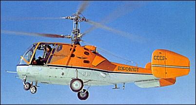 KAMOV - o pai do helicoptero coaxial russo Ka-15_2