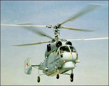 KAMOV - o pai do helicoptero coaxial russo Ka-27