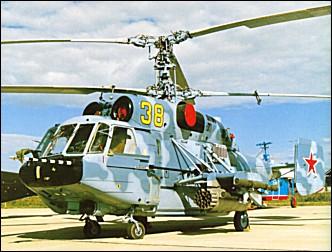 KAMOV - o pai do helicoptero coaxial russo Ka-29