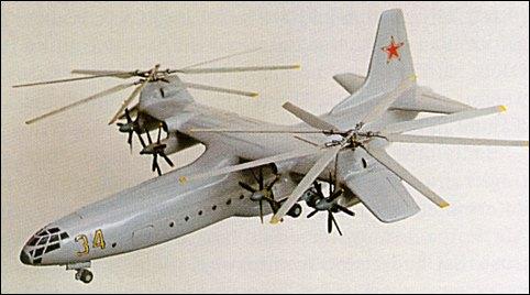 Tandem & Tilt-Rotor Aircraft development Ka-34