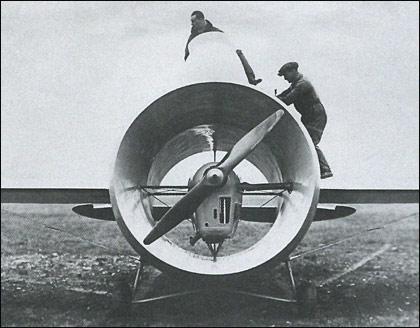 """Aviones """"curiosos"""" de la SGM - Página 2 Caproni_stipa_1"""