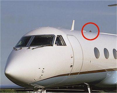 les feux des avions - Feux de positions et phares des avions Feux08