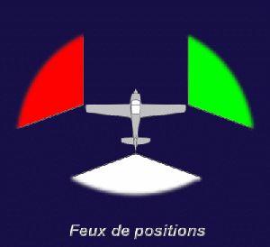 les feux des avions - Feux de positions et phares des avions Feux20