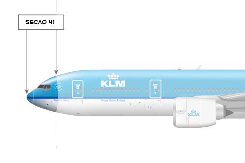 Sabe a secreta área 51? Pois a área 41 é muito mais importante para a Boeing. KLM777-Sec41