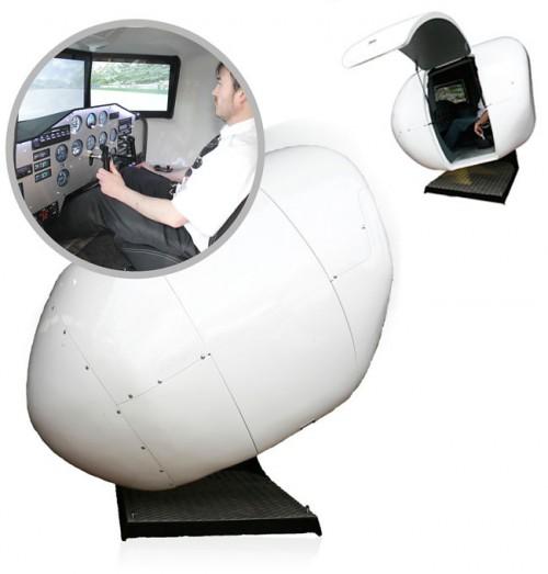 Home Cockpit: OVO-4 OVO-4-Home-Flight-Simulator-1-500x523