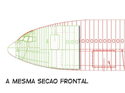 Sabe a secreta área 51? Pois a área 41 é muito mais importante para a Boeing. Secao-frontal-500x372