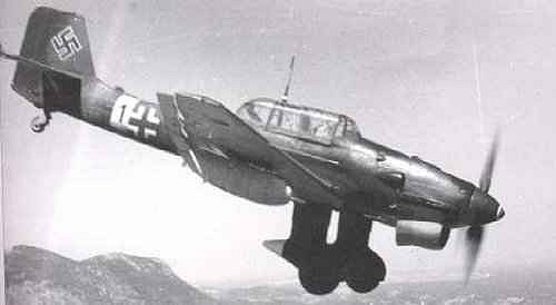 Cazas y ases de la segunda guerra mundial . Ju_87