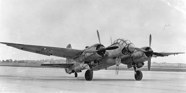 Les avions de la socièté Junkers Gju288-2